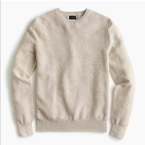 NWT J Crew Oatmeal Crewneck Sweater Size M